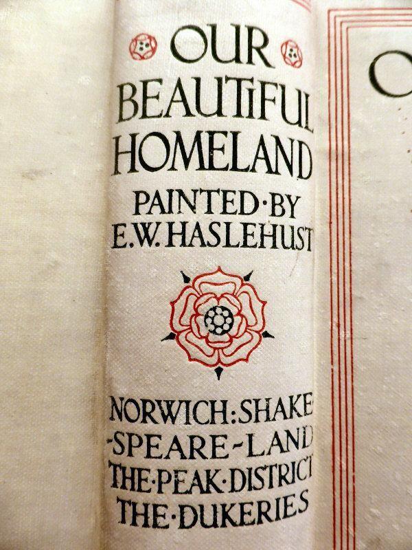Beautiful typography on spine c.1910   #bookspines @PenguinUKBooks  via @EyesAndOutcry