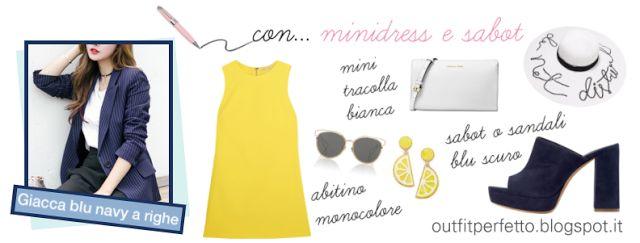 Outfit Perfetto: CONSULENZA DI MODA: come abbinare una GIACCA BLU NAVY a RIGHE BIANCHE per OUTFIT CASUAL