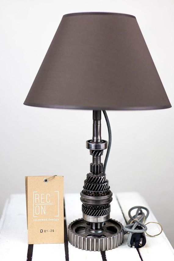 Modern lamp made of the mechanism of transmission by RECONrenewed