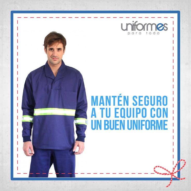 La seguridad es un asunto que no debe tomarse a la ligera. ¡Contáctanos para tus uniformes del sector industrial! #UniformesParaTodo #TrabajoIndustrial #Seguridad  www.uniformesparatodo.com