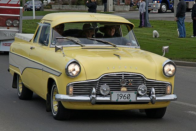 1960 Ford MK2 Zephyr Pickup Ute. Were manufactured in England and Australia. v@e.