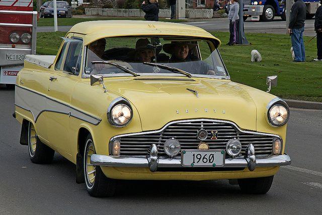 1960 Ford Zephyr Ute (Pickup). by Branxholm, via Flickr