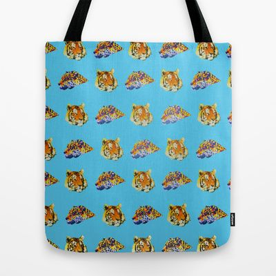 Tigers Tote Bag by Nahal - $22.00