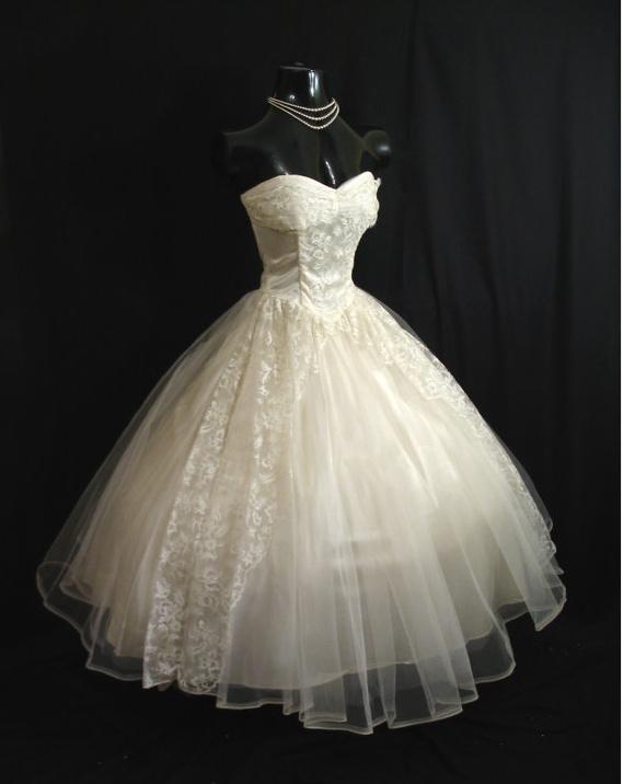 37 best wedding dresses - \'50s images on Pinterest | Wedding frocks ...