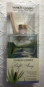 Yankee Candle Drift Away Fragranced Reed Diffuser Hand Decorated Glass 3 Oz. New  | eBay