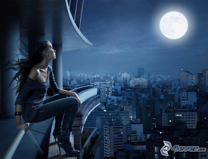 woman,-moon,-view-of-the-city-232210.jpg (674×515)