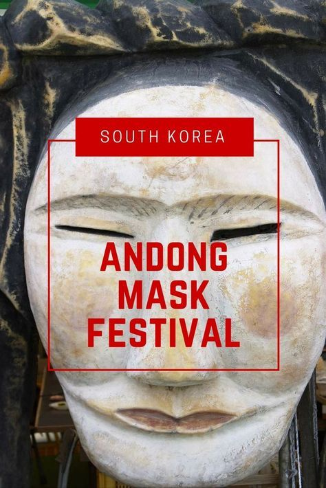 If you're the kind of traveller who loves colour and culture, consider visiting South Korea during the Andong Mask Dance Festival. Andong's International Mask Dance Festival is a kaleidoscope of colour and culture in South Korea
