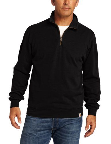 BESTSELLER! Carhartt Men`s Big-Tall Sweater Knit Quarter Zip $39.99