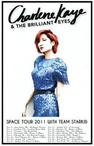 Charlene Kaye Space Tour Poster #charlenekaye