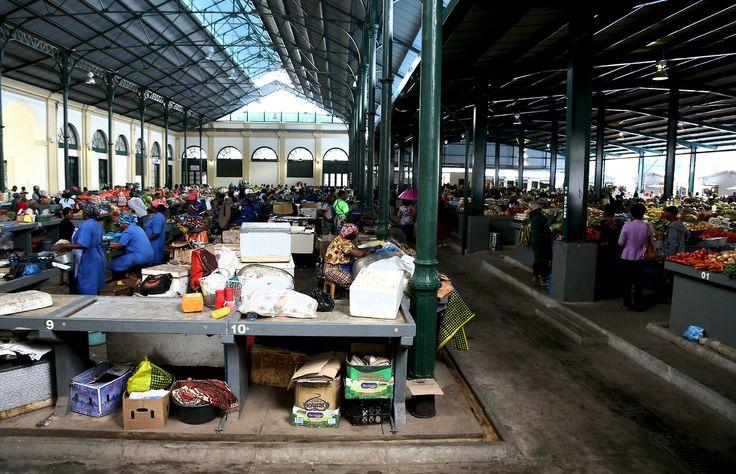 Food market - Maputo Mozambique