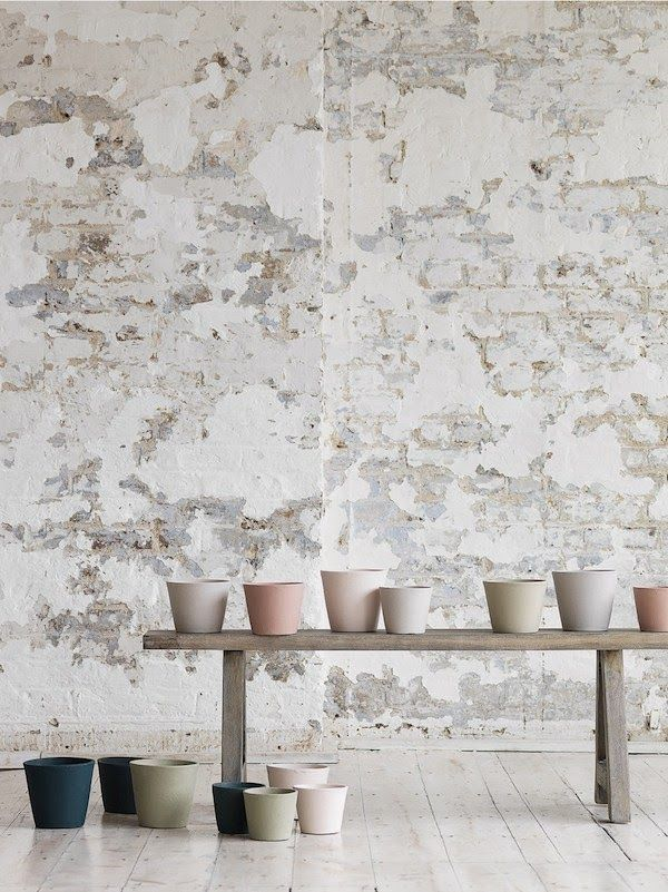 Soft Industrial city loft furniture - I wonder if it is possible to re create that distressed wall look on my walls.