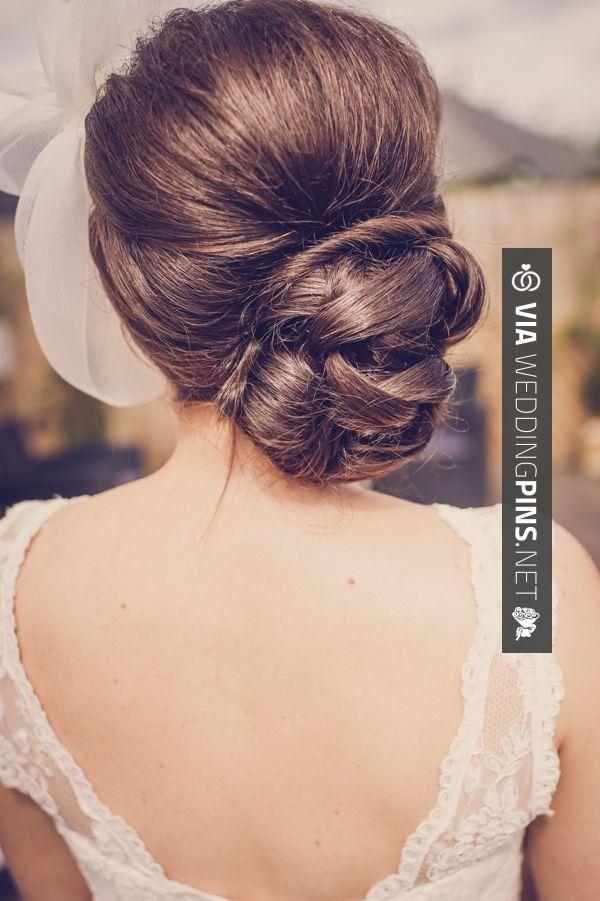 34 best Side Bun Wedding Hair images on Pinterest | Wedding hair ...