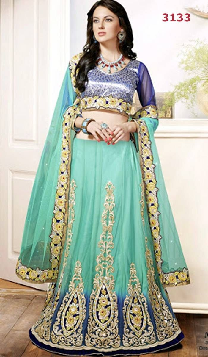 9 best Bridal Designer Lehenga-Samples images on Pinterest | Lehenga ...