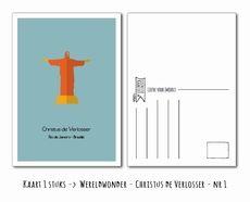 Kaart Christus de Verlosser -> Nr 1