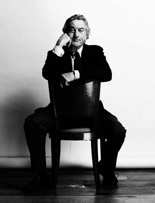 Robert DeNiro, by Nigel Parry