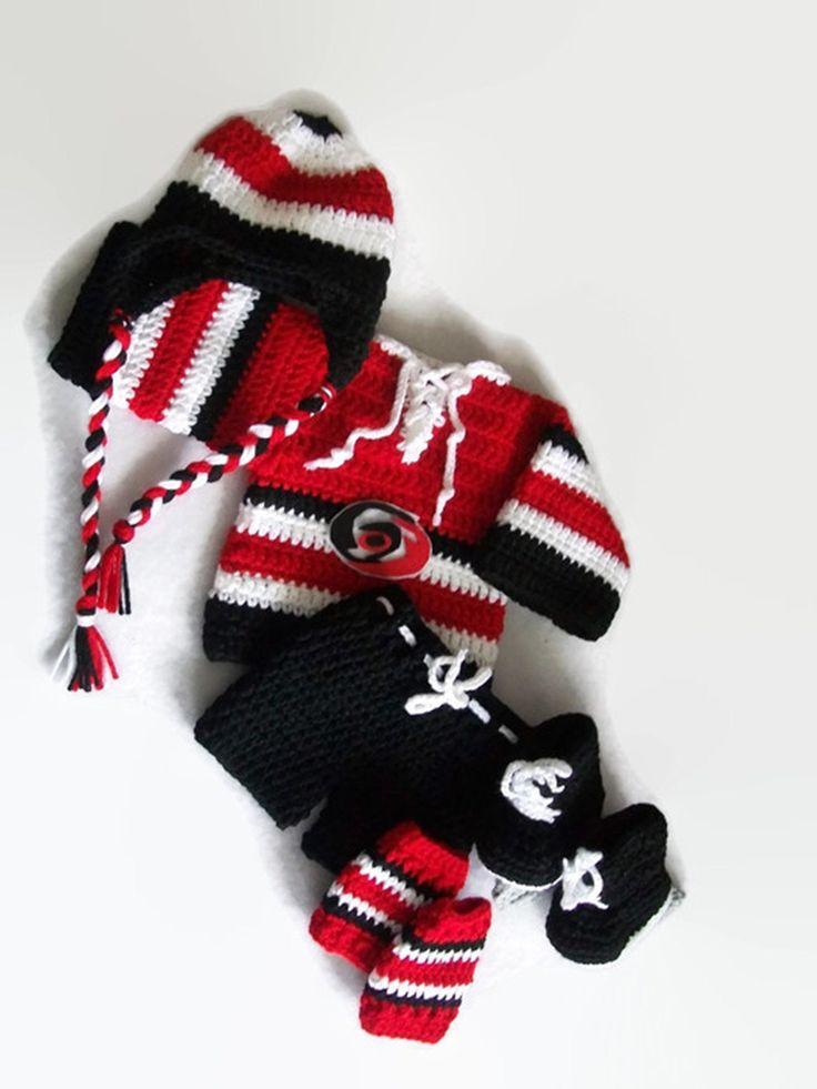 Baby Hockey Outfit, Newborn Boy, Gift for Baby, Hockey