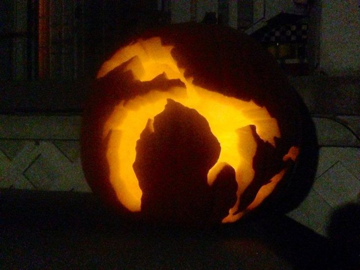 A michigan awesome way to carve pumpkin thanks