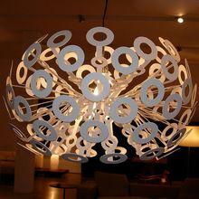 Современный Moooi одуванчик подвеска лампа кухня промышленные лампады ресторан подвесные светильники краткое E27 110 В 220 В Pendente(China (Mainland))