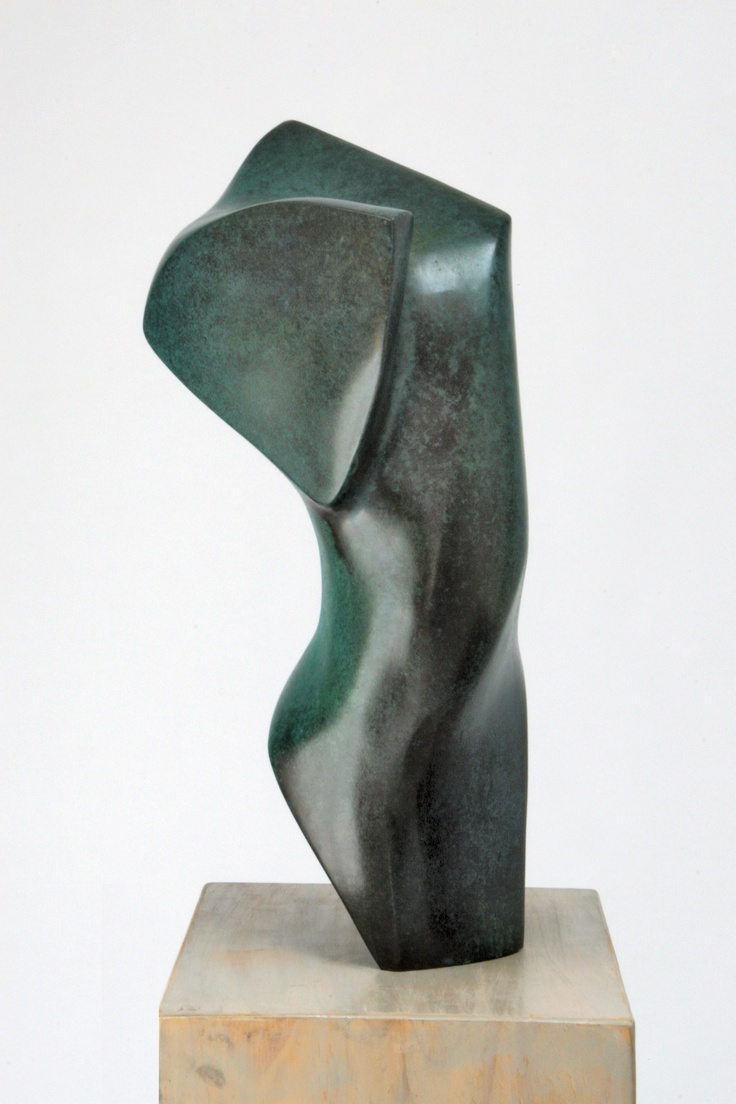 Waiting for Gaia, 1996, cast bronze, 18kg, edition of 6, w 330mm x h 590mm x d 260mm (photo: Helena Fierlinger)