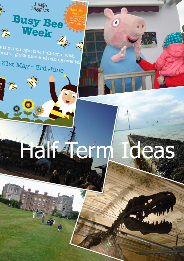 Ideas for days out this May half term