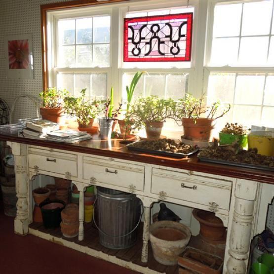 A Glorious Garden House