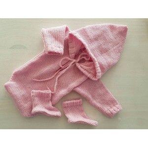 Romper roze met slofjes (nr8) Kleding / setjes