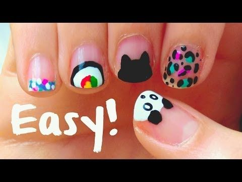 27 best nail art for kids images on pinterest halloween nail art easy nail art designs for short nails for beginners diy tools prinsesfo Image collections
