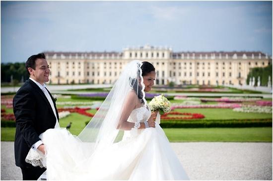 Destination Wedding in Vienna by Claire Morgan Photography