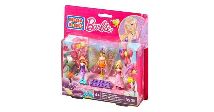 Barbie - Princess Ball Barbie™ | Mega Bloks