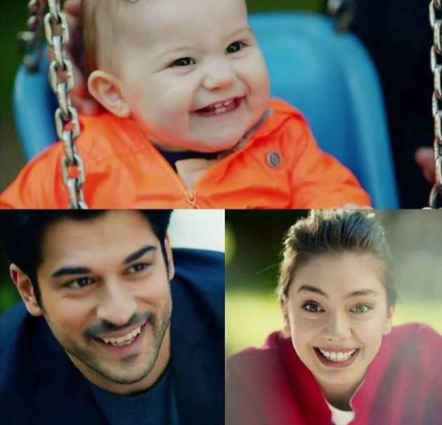 So nice.Soydere family smiling