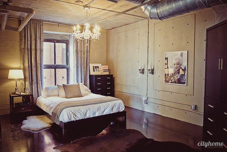 Westgate Loft | Designed by Cody Derrick. #saltlakecity #cityhomeCOLLECTIVE: Cityhom Design, Loft Address 328, Decor Design, Westgat Loft, Loft 203, Loft Bedrooms, Houses Ideas, Amazing Loft, Loft Spaces