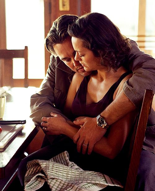 """Leonardo DiCaprio and Marion Cotillard in """"Inception"""", 2010... """"Do you know what it is to be a lover? Half of a whole?"""""""