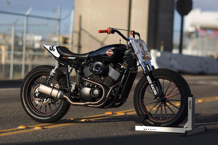 Race Prep: Noise Cycles' Harley XG750 Flat Tracker