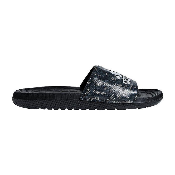 Michigan Wolverines Mens Big Blue Shower Slides Sandal Shoes