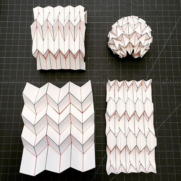 1000 ideas about origami architecture on pinterest for Architecture origami