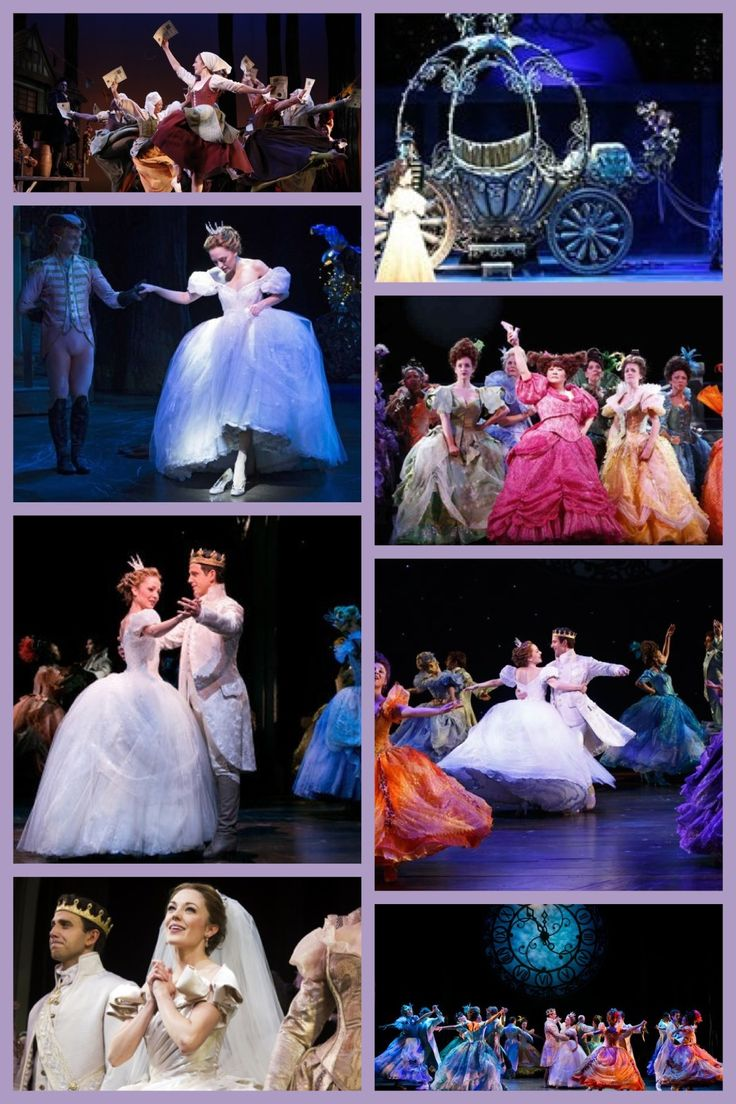 Disney Cinderella Broadway Production I can't wait mom got us tickets 4 this fall sooooo cheery
