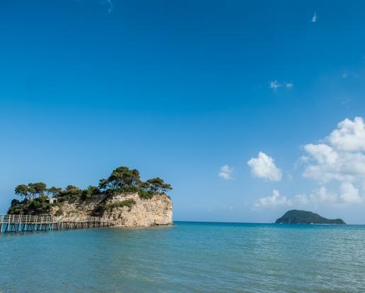 Cameo Island with Mamma Mia Taverna Wedding in Zante
