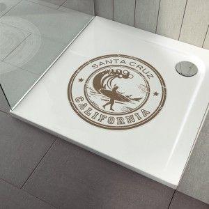 Anti-Rutsch-Aufkleber Dusche Santa Cruz