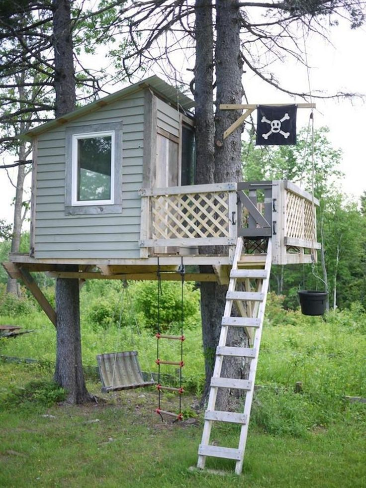 10 Enjoyable DIY Tree Houses Design For Your Kids and Family