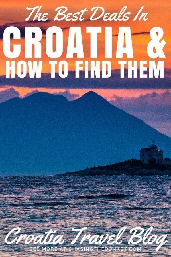 The Best Deals in Croatia & How To Find Them   Croatia Travel Blog  Europe Travel Tips