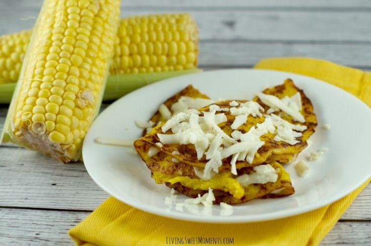 Latin Corn Pancakes Recipe - Cachapas - Living Sweet Moments