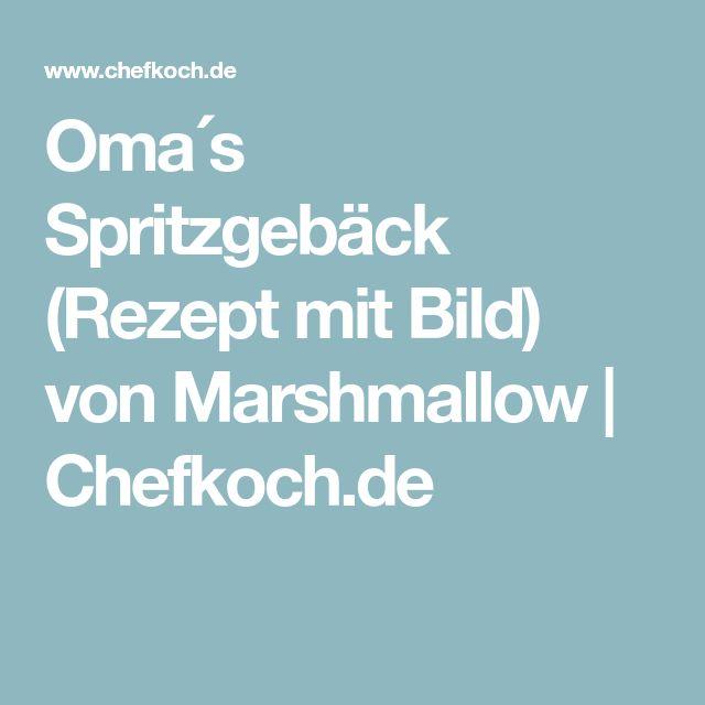 Omas Spritzgebäck