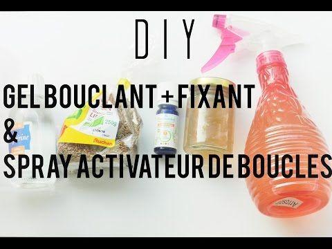 [ DIY ] : Réaliser son gel bouclant + fixant et son spray activateur de boucles…