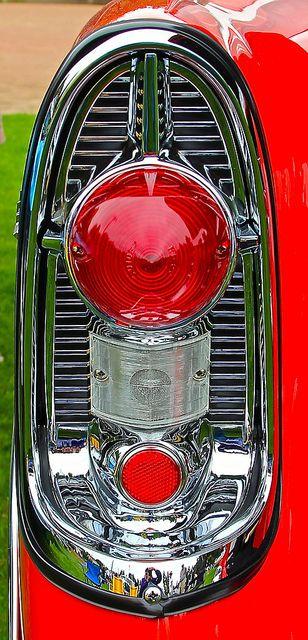 1956 #Chevrolet rear detail #ClassicCar #QuirkyRides