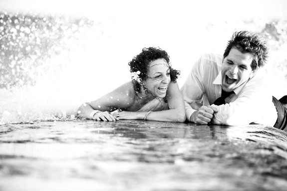 mexican alleyway beach trash the dress pictures (4)