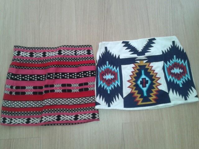 Aztec skirts