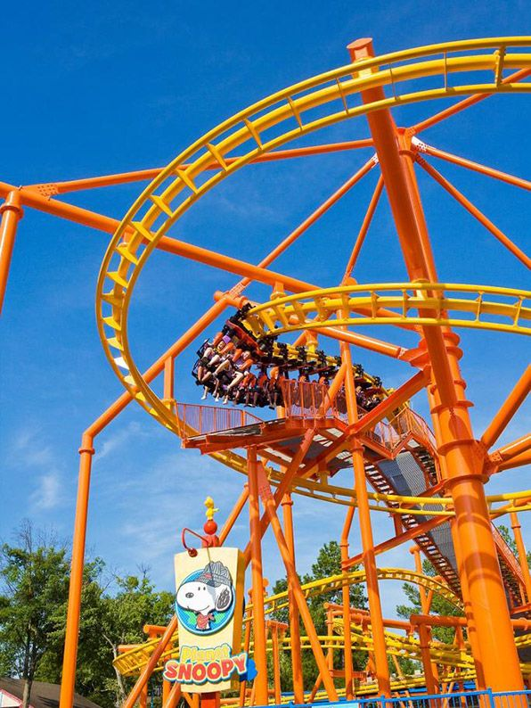 Carowinds (Charlotte, North Carolina) See the Thrill Capital of the Southeast! The 398-acre Carowinds is home to 13 roller coasters -- can you brave Afterburn and Intimidator?