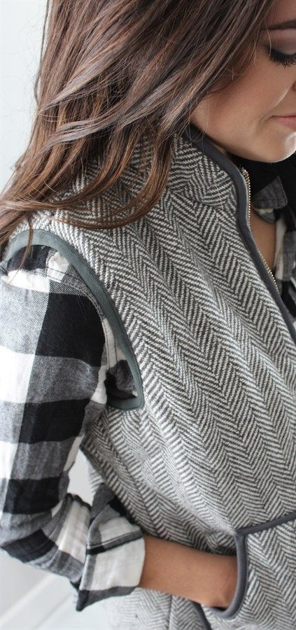 New Colors...Must Have Herringbone Vest | Jane