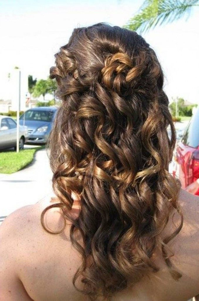 Cute Easy Hairstyles For School Dances : Best images about hair on formal hairstyles