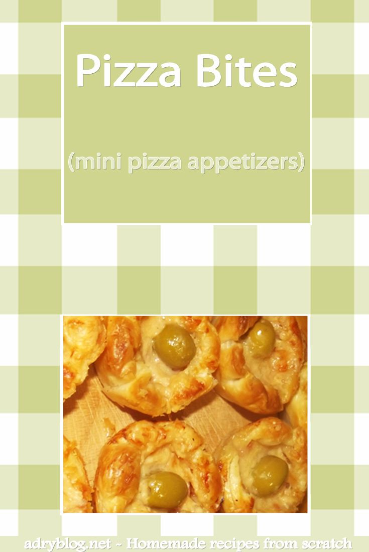 Wondering how pizza bites or mini pizzas are made?It's easier done than said! Prepare your own pizza bites, at home. Homemade mini pizzas are the best!